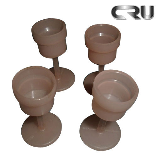 Brown Plastic Dust Cap