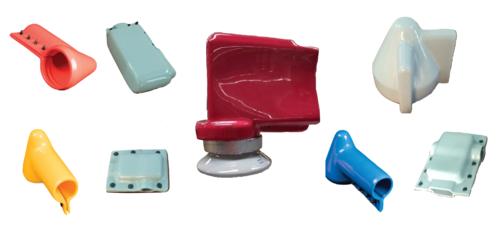 PVC Dip Moulded Components