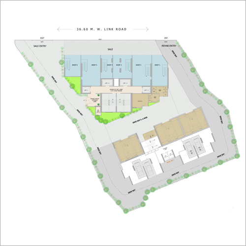 Ground Floor Plan Property Consulting Service