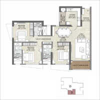 3 BHK Apartment Flate Real Estate Property Consulting Service