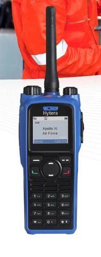 Intrinsically Safe Digital Portable Two Way Radio