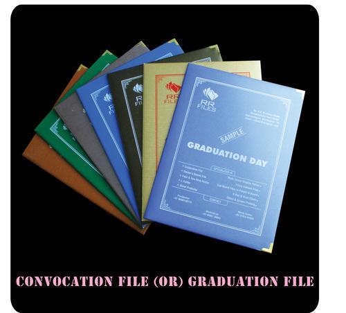 Convocation File