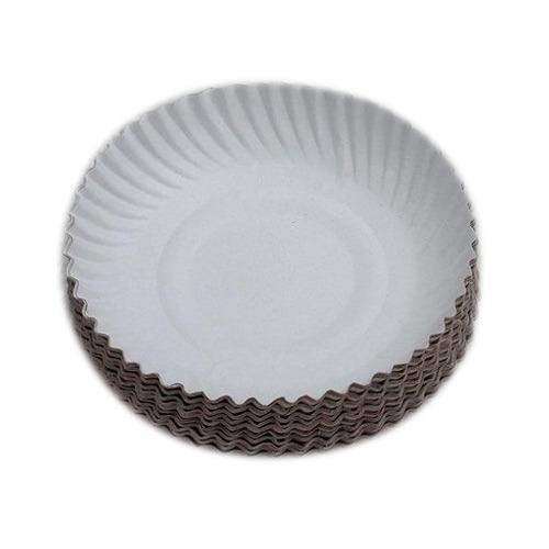 Wrinkled Paper Plates