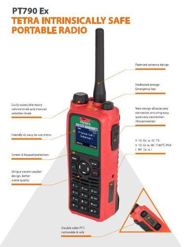 Tetra Intrinsically Safe Portable Radio