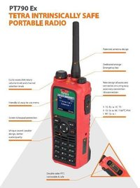 Tetra Intrinsically Safe Portable Radio