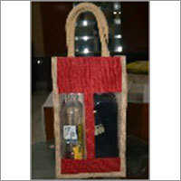 Jute Bottle Bag