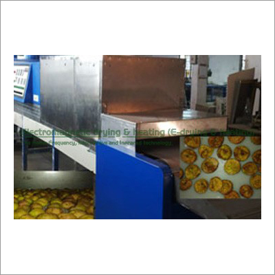 Fig Electromagnetic Conveyorised Drying-Sterilization System