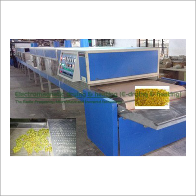 Grapes-Pomegrante Seed Electromagnetic Conveyorised Drying-Sterilization System
