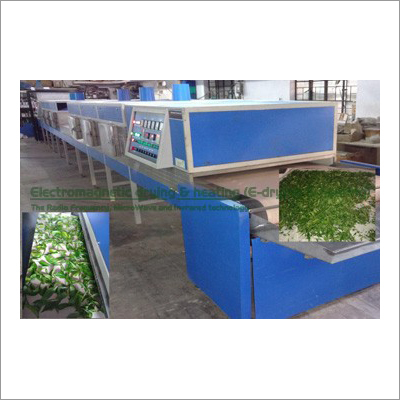 Green Tea-Black Tea Electromagnetic Conveyorised Drying-Sterilization System