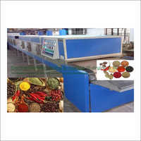 Spice Electromagnetic Conveyorised Drying-Sterilization System