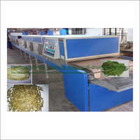 Vegetables Electromagnetic Conveyorised Drying-Sterilization System