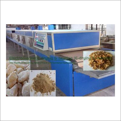 Amla Electromagnetic Conveyorised Drying-Sterilization System