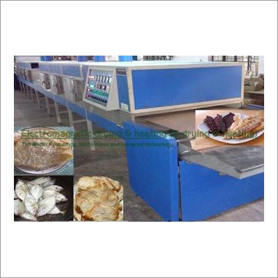 Fish Electromagnetic Conveyorised Drying-Sterilization System