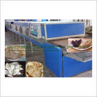 Fish Electromagnetic Conveyorised Drying-Sterilization System