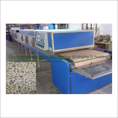 Grains Electromagnetic Conveyorised Drying-Sterilization-Disinfection System