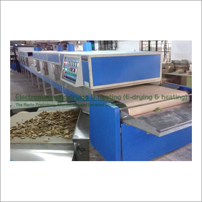 Electromagnetic Ginger Insect Control Drying Sterilization System