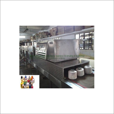 Microwave systems for Textile industry