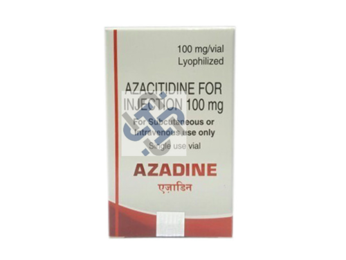 Azadine Azacitidine 100 mg Injection