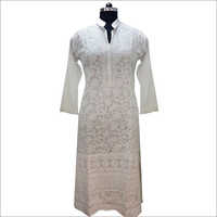 Ladies Chikankari Long Suit