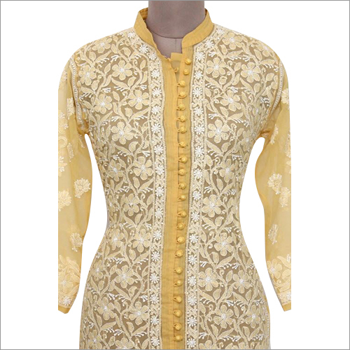 Ladies Embroidery Chikankari Suit