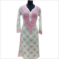 Fancy Ladies Chikankari Suit