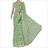 Ladies Chikankari Saree