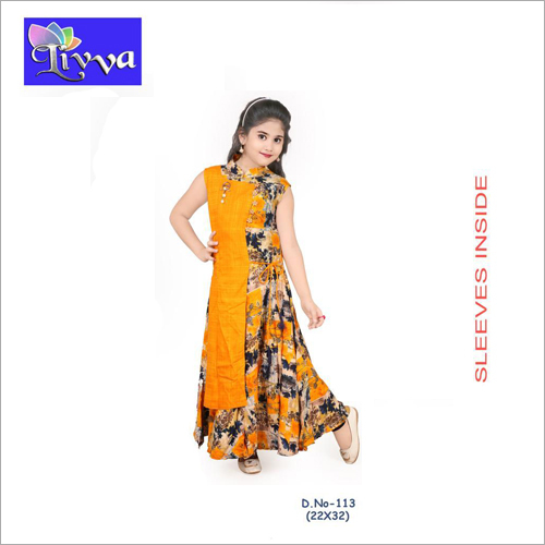 Kids Embroidered Kurti