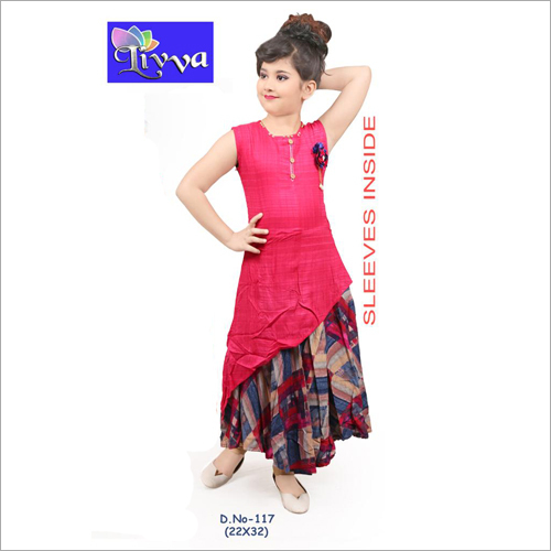 Kids Fancy Frock Suit