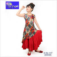 Kids Fancy Printed Kurti