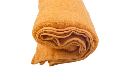 Jumbo 36 x 72 size orange bath towels