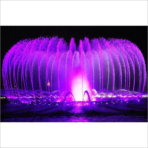 3D Musical Fountain
