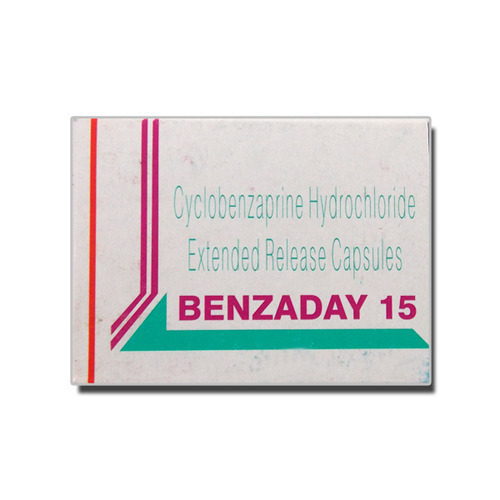 Cyclobenzaprine Hydrochloride Extended Release Capsules