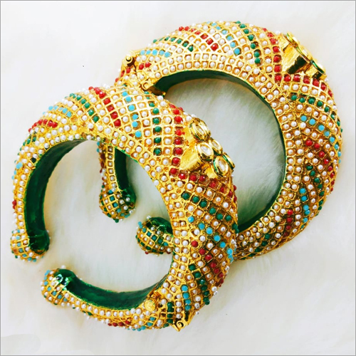 Ladies Beaded Designer Bangles