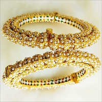 Ladies Beaded Round Bangles