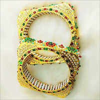 Ladies Designer Beaded Bangles