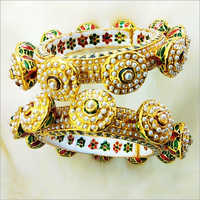 Ladies Sparking Beaded Bangles