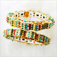 Ladies Small Beaded Bangles