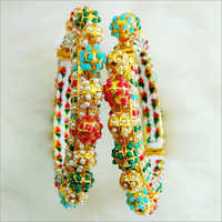 Ladies Stone Studded Fancy Bangles