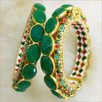 Ladies Stone Studded Designer Bangles