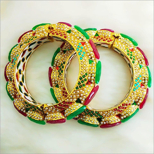 Ladies Stone Studded Round  Bangles