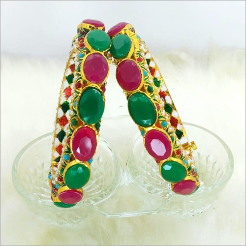 Ladies Stone Studded Partyware Bangles
