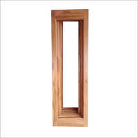 Teak Wood French Window