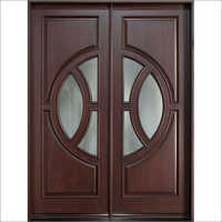 Teak Wood Double Entry Door