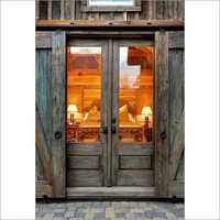 Reclaimed Wooden Double Door