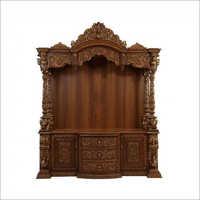 Antique Teak Wooden Temple