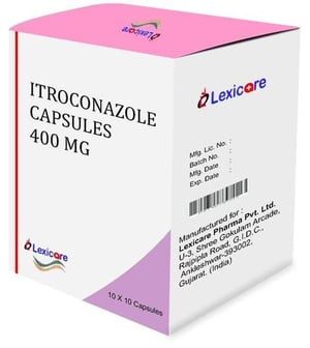 Itroconazole Capsule 400 Mg