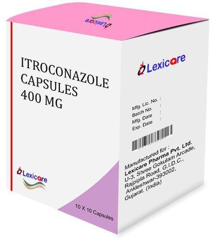 Itroconazole Capsule 400 Mg Certifications: Who Gmp