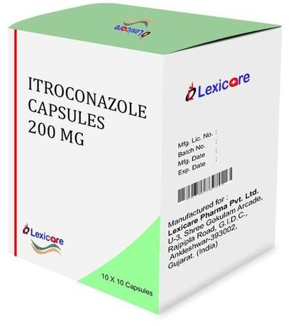 Itraconazole Capsules 200 Mg Certifications: Who Gmp