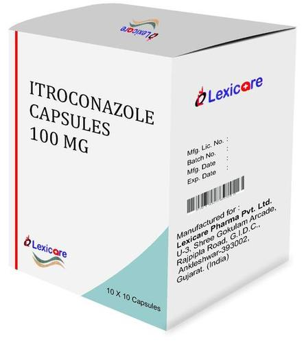 Itroconazole Capsule 100 Mg