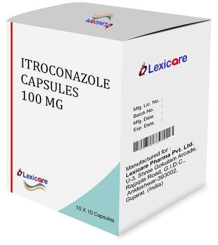 Itroconazole Capsule 100 Mg Certifications: Who Gmp